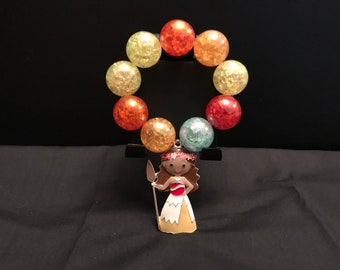 Girls Moana Chunky Bubblegum Bracelet