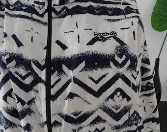 Jacket/jacket 80's / 90's REEBOK black/white size L