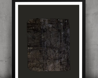 Abstract Geometric Urban Gemstone Print-Mudd