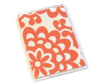 Passport Cover Amy Butler Cherry Wallflowers