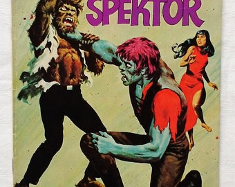 Occult Files of Doctor Spektor February 1973 Whitman #12 Western Publishing Comic Beauty and the Beasts