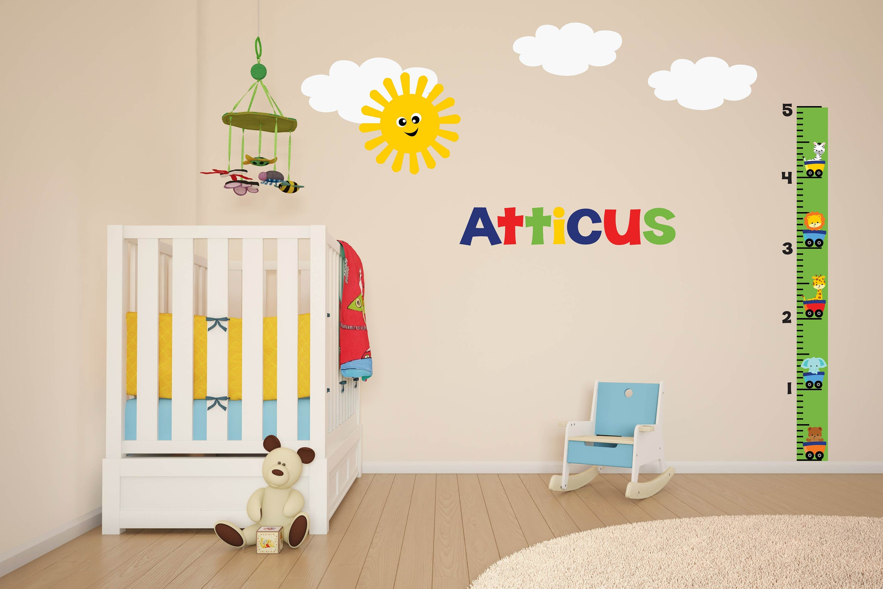 Animal growth chart growth chart wall decal name wall decal zoom nvjuhfo Image collections