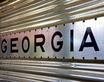 Georgia Railways, Train Decor, Mail Railway Photo, Train Photography