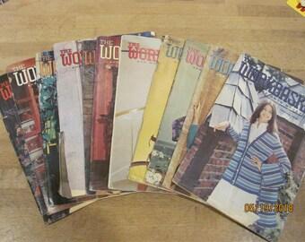 Workbasket magazines 1975 - Set of 11