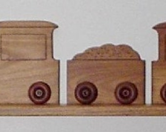 Train Wall Shelf
