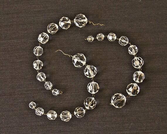 Vintage chandelier crystals sphere prisms 27 pcs glass chandelier vintage chandelier crystals sphere prisms 27 pcs glass chandelier jewelry supplies chandelier replacement parts chain glass charms mozeypictures Gallery