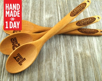 Chili, Chili Cook Off, Chili Cook-Off, Prize, Contest, Personalized spoon, Wooden Spoon, Favor, Event Prize, Engraved Spoon Set Custom -S113