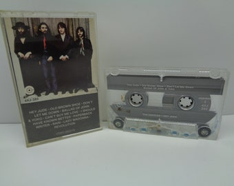 Beatles Hey Jude Cassette