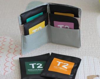 Design your own tea wallet