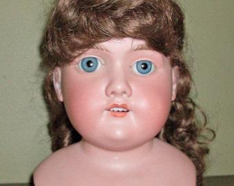 Vintage Porcelain Floradora A.5 M.  German Doll Head