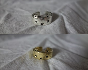 Cute Bear Retro Adjustable Silver or Gold Ring CLOSING DOWN SALE