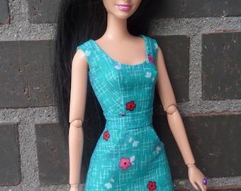 Dress for Barbie and Poppy Parker dolls.
