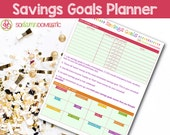 Savings Goals Printable P...