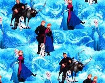 Disney Frozen Fabric by Springs Creative (by the yard)