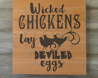 Rustic Wood Sign - Kitchen Decor - Rustic Sign - Farmhouse Kitchen Decor - Kitchen Sign Decor - Rustic Kitchen Wall Decor