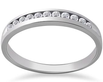 Diamond Wedding Ring 1/2 ct Caitlyn Diamond Wedding Ring 14k White Gold