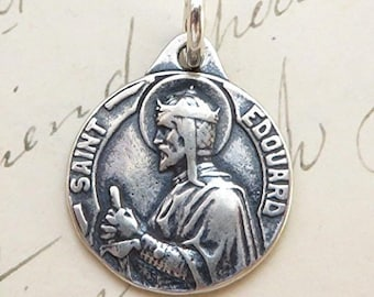 St Edward the Confessor Medal - Patron of difficult marriages & separated spouses
