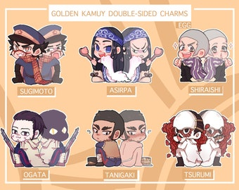 Golden Kamuy Doublesided Charms