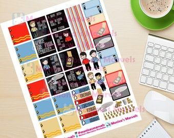 Deluxe Star Trek inspired Planner Printables mini and vertical