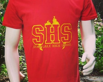 buffy the vampire slayers sunnydale high school geek t-shirt