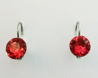 HYACINTH CRYSTALIZED Swarovski element earrings