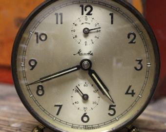Vintage Mauthe Alarm Clock
