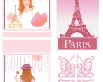 Paris Boutique Stationary Set