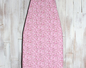 Ironing Board Cover - Pomegranate Dots in Pink