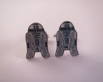 Men's Cuff Links - Star Wars R2-D2 Droid