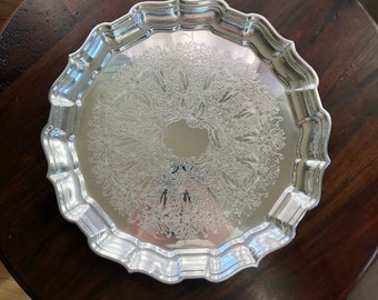 Reed & Barton Silverplater Chippendale Serving Tray