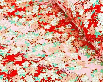 1 sheet 42x59cm Japanese Yuzen Washi Chiyogami Papers P128