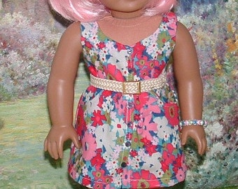Sundress and Bracelet for American Girl Dolls