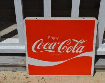 Enjoy Coca Cola Metal Sign