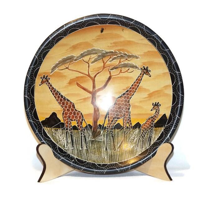 Decorative bowl display holder Large panel holder Art display Wooden Easel Artwork Stand Simple Wood display bowl stand bowl holder  sc 1 st  Etsy Studio & Decorative bowl display holder Large panel holder Art display ...
