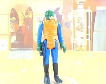 Star Wars Walrus Man Action Figure With FREE Bonus Weapon
