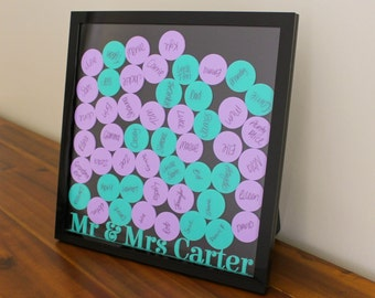 Wedding Guestbook Drop Box - Acrylic (three sizes, 50-125 tokens)