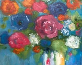 """Original painting """"Optimism"""""""