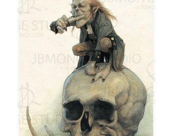 Fine Art Print - Bone Cruncher