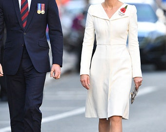 kate middleton fav white dress celeb inspired custom made