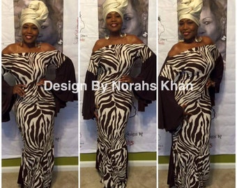 NK Chocolate Zebra Dress