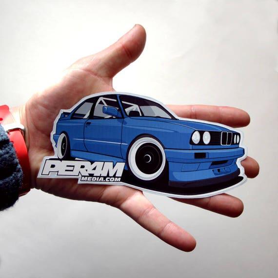 Bmw e30 m3 sticker car sticker car decal car window