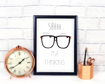 Cubicle Decor, Office Wall Art, Office Desk Accessories, Office Decor, Funny  Office