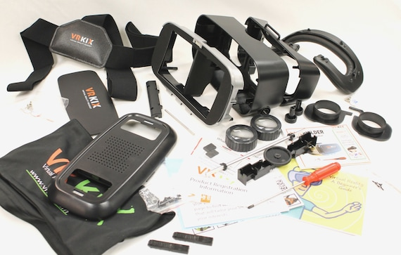 vrbuilder virtual reality augmented reality smartphone headset