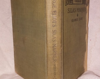1898  edition silas marner by george elliot