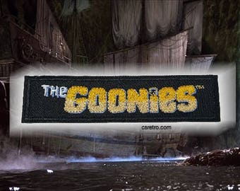 The Goonies movie vintage embroidered iron on patch