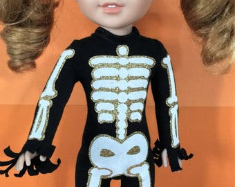 Skeleton Costume PATTERN for Wellie Wishers