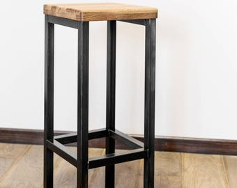 Bar Stool in industrial  loft style