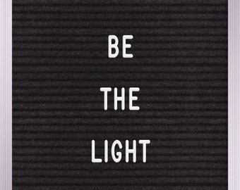 be the light Print | Wall Art | Printable | 8x10