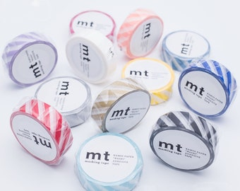 MT - Washi Paper Masking Tapes - Stripe