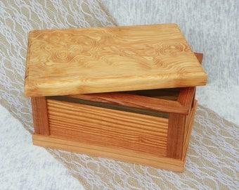 Trinket, Jewelry, Keepsake, Storage, wooden box